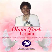 Mrs. Olivia Croom