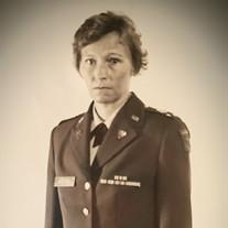 Major Olivia Jane Masters