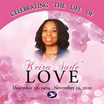 Ms. Keira Sade' Love