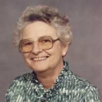 Mrs. Evelyn Martha Lane