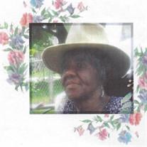 Bessie Ethridge- Tye