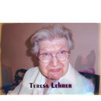 Teresa M. Lehrer