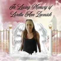Loretta Ann Zacevich