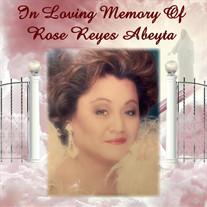 Rose Reyes Abeyta