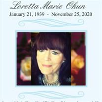 Loretta Marie Okun