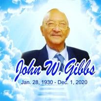 "Mr. John W. ""Paw Paw"" Gibbs"