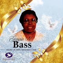 Mrs. Georgia Newanda Bass