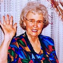 Mrs. Margie Joy (McLellan) Wentworth