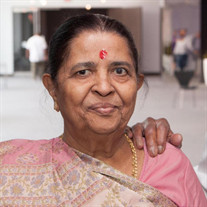 Mrs. Sarojben Krishnadas Patel of Schaumburg