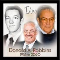 Donald A. Robbins