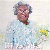 Mrs. Ollie Mae Kirksey