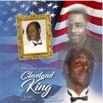 Mr. Cleveland King Sr.