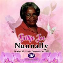 Ms. Bettye Joe Nunnally