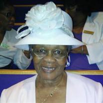 Mrs. Mercie Lee Flowers