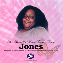 """Ms. Shawella """"Nana"""" Jones"""