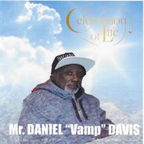 """Mr Daniel """"Vamp"""" Davis"""