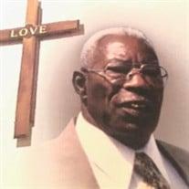 Reverend Carroll James Reed, Sr.