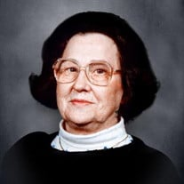 Margaret Whittle Parker