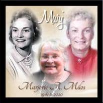 Marjorie A. Milos