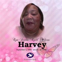 """Mrs. Qua-Donna """"Quill""""  Verrie Wilcox Harvey"""