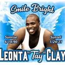 """Leonta """"Tay"""" Clay"""