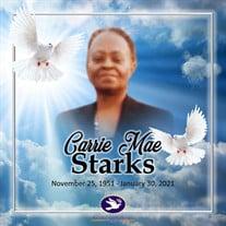 Mrs. Carrie Mae Johnson Starks