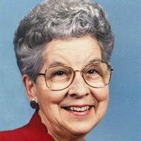 Mrs. Rebecca May Cortner