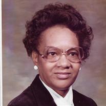 Mrs. Geraldine Fowlkes