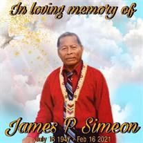 Pastor James P. Simeon