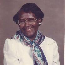 Mrs. Geraldine Thurman