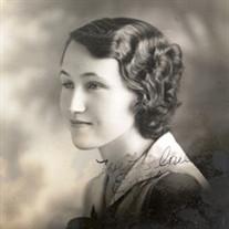 Eva Wilkinson (Rice) Wilkinson