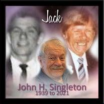 """John H. """"Jack"""" Singleton"""