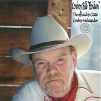 William (Cowboy Bill) Holden