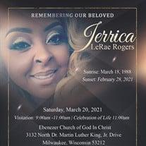 Ms. Jerrica L. Rogers