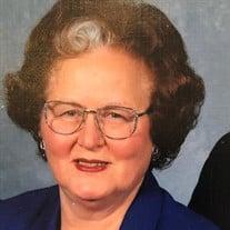 "Mrs. Frances ""Jean"" Duncan"