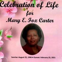 Mrs. Mary Ernestine Fox