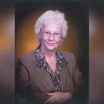Geraldine  Bernice  Baxter