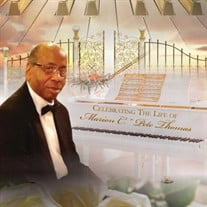 Dr. Marion C. Pete Thomas