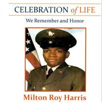 MR MILTON ROY HARRIS