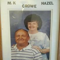 Mrs. Hazel Blackwell Crowe