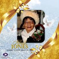 Mrs. Alberta Jones