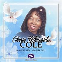 Ms. Cherie Whiteside Cole