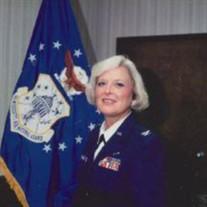 Col. Barbara Ann Keller Mcgrath USAF Ret.
