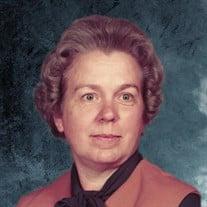 Elizabeth Frances Glovier