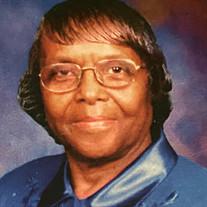 Pastor Bernice Peterson