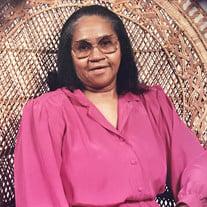 Mrs. Bertha Lee Washington Green