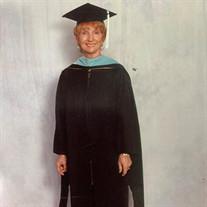 Anna Marlene Graves Pickard, Ph.D.