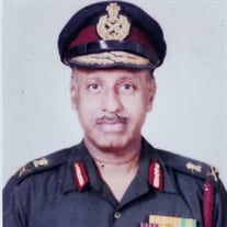 Lt. Gen. Ravindranath Turaga, AVSM, VSM, MDS, FADI