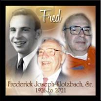 Frederick J. Klotzbach, Sr.
