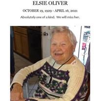 Elsie V. Oliver